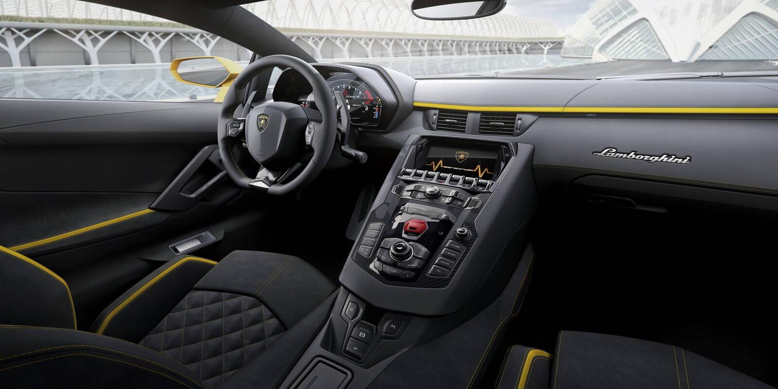 Lamborghini Aventador S. Foto: Divulgação