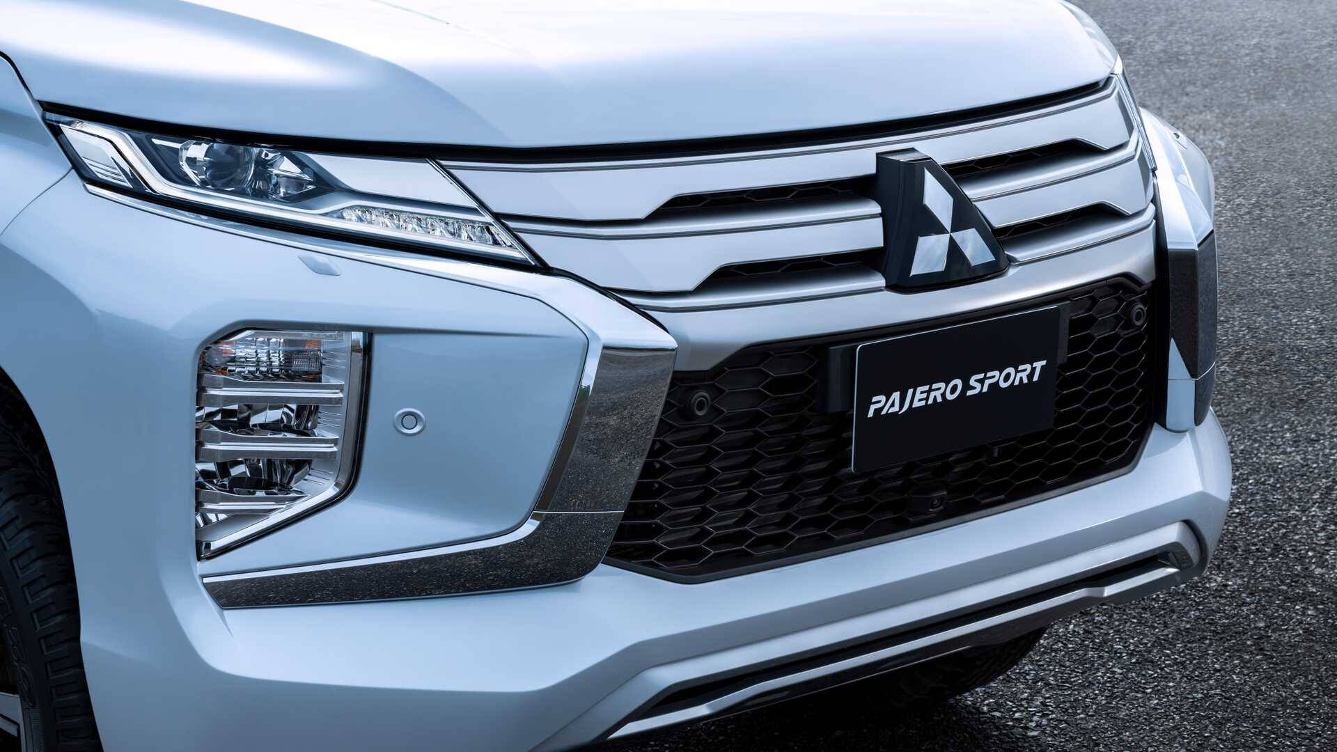 Mitsubishi Pajero Sport. Foto: Divulgação