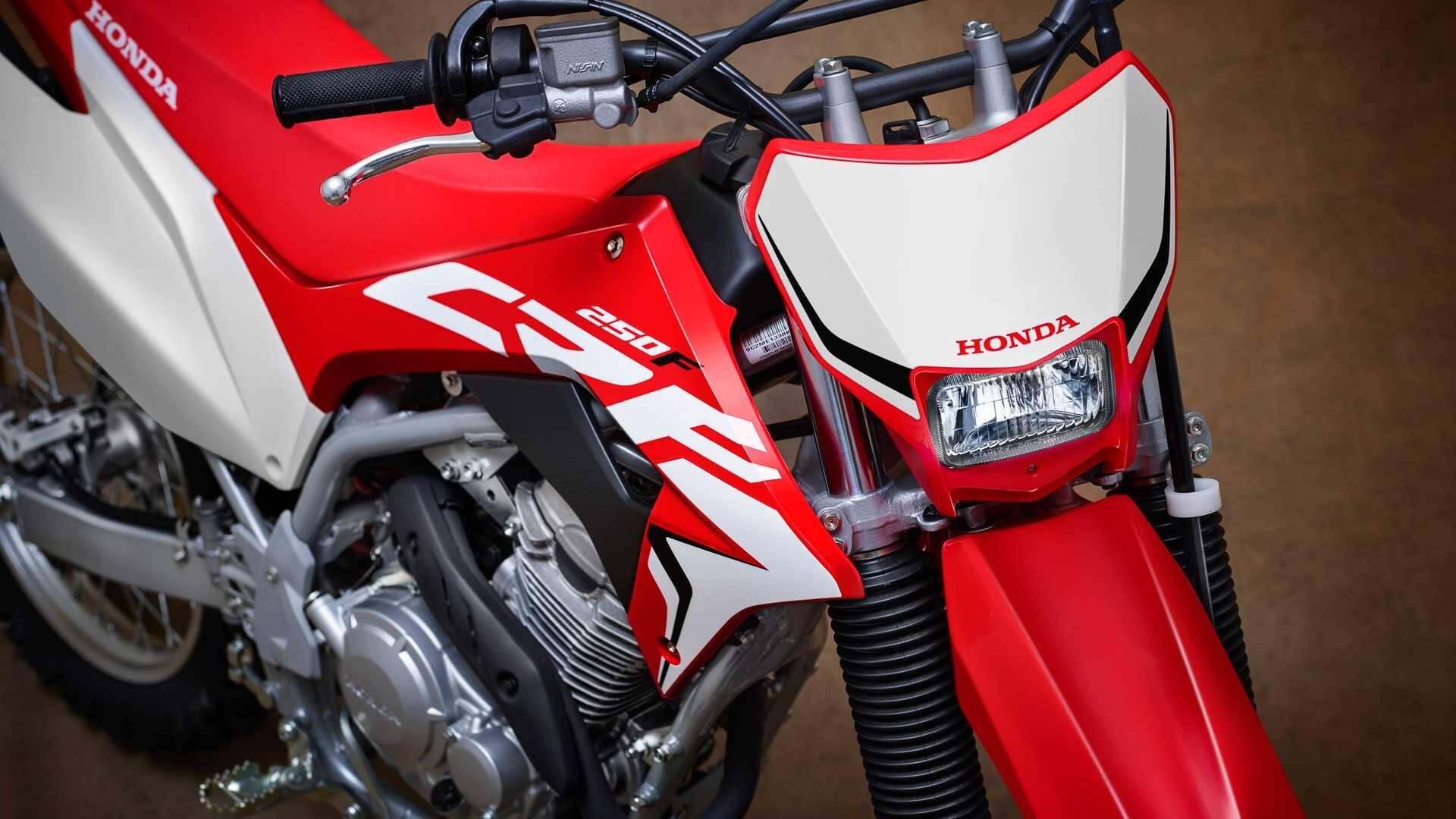 Honda CRF 250F. Foto: Divulgação