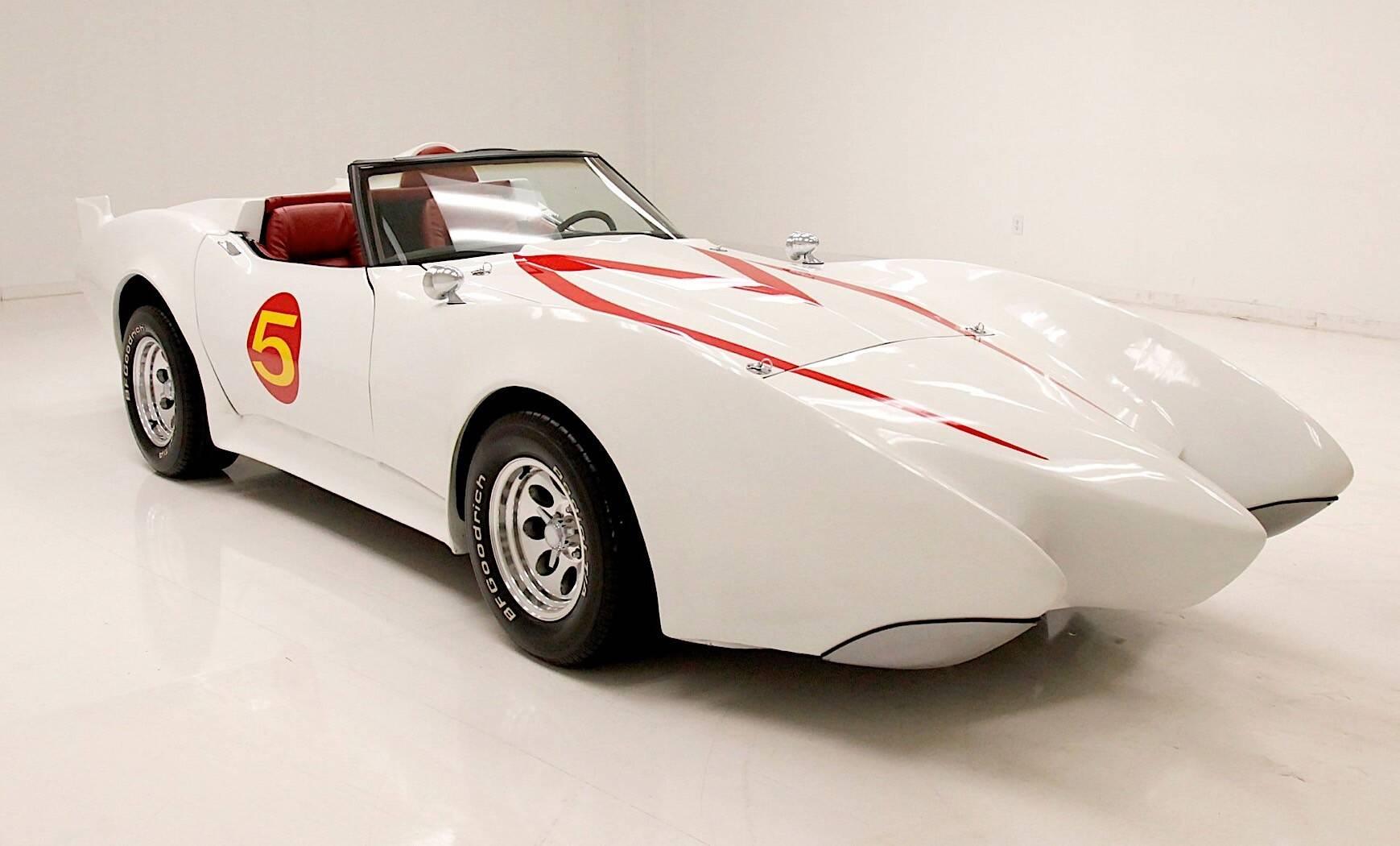 Corvette 1979 Mach 5 Speed Racer. Foto: Divulgação