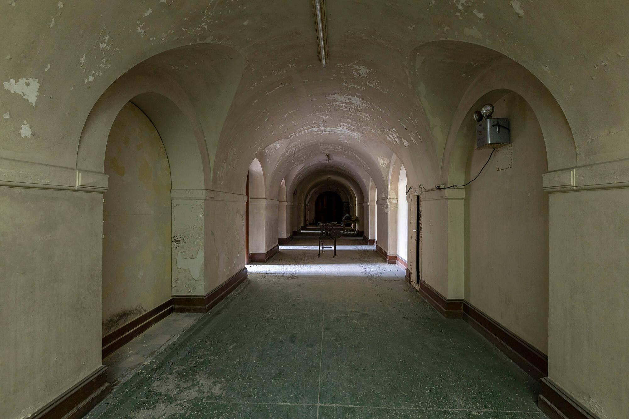 Corredor da mansão. Foto: Reprodução/ Abandoned Southeast