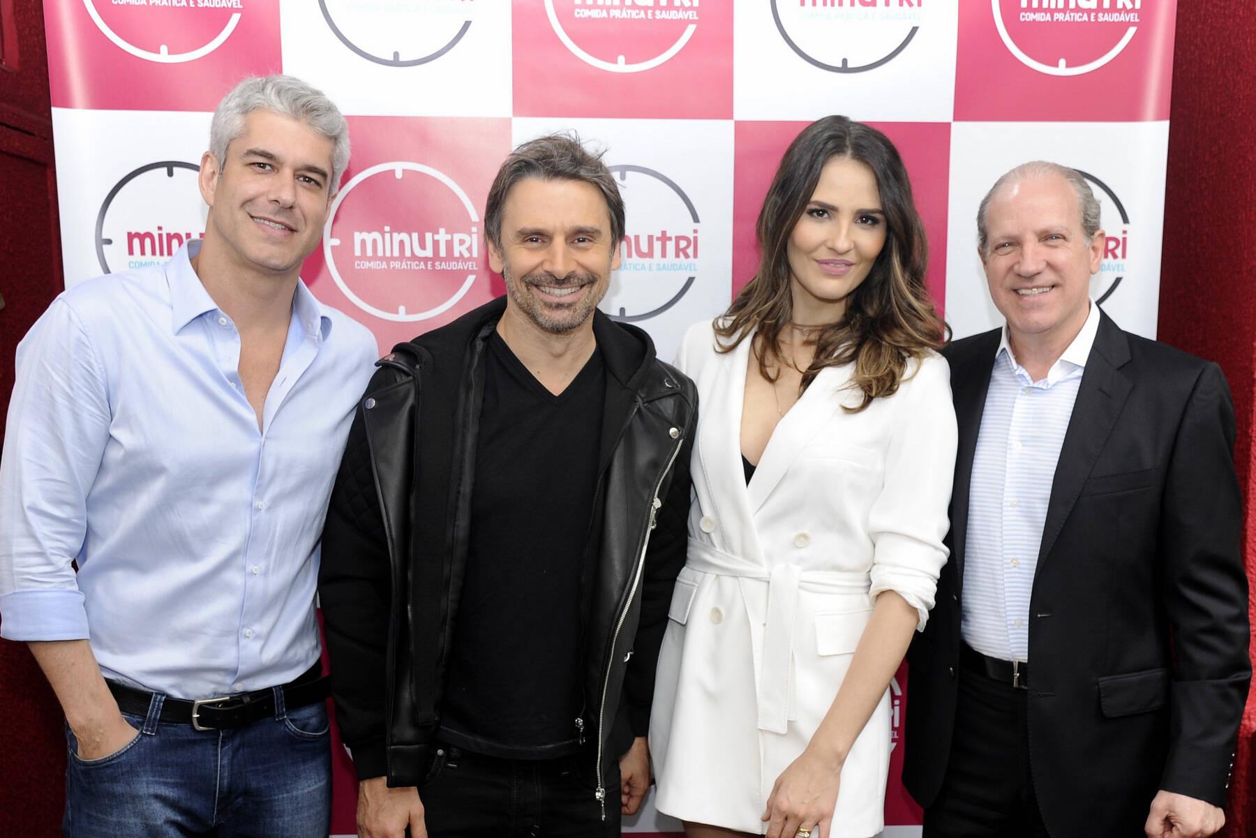 Murilo Rosa e Fernanda Tavares fazem evento em São Paulo. Foto: André Loretti