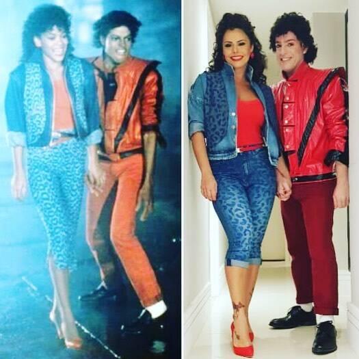 Viviane Araújo fez referência ao clipe de Thriller, do Michael Jackson. Foto: Reprodução/Instagram