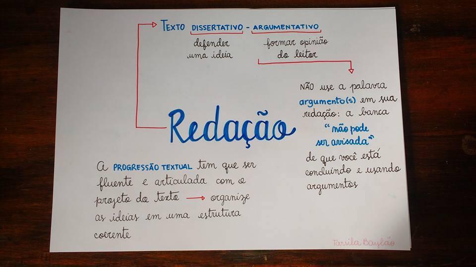 Redação Enem. Foto: Redação Enem