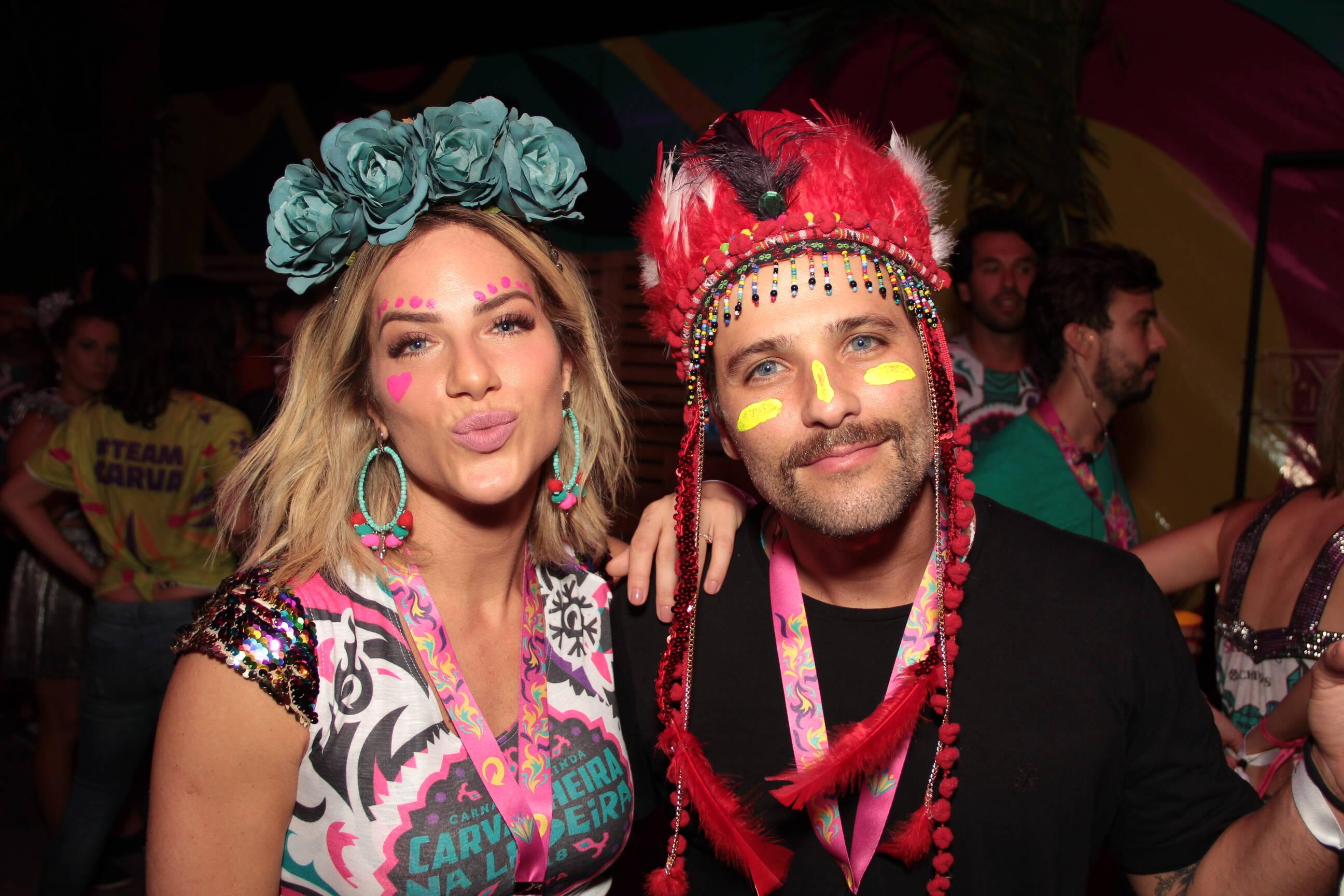 Bruno e Giovanna em Olinda na última sexta (09). Foto: Vinícius Ramos/4COM
