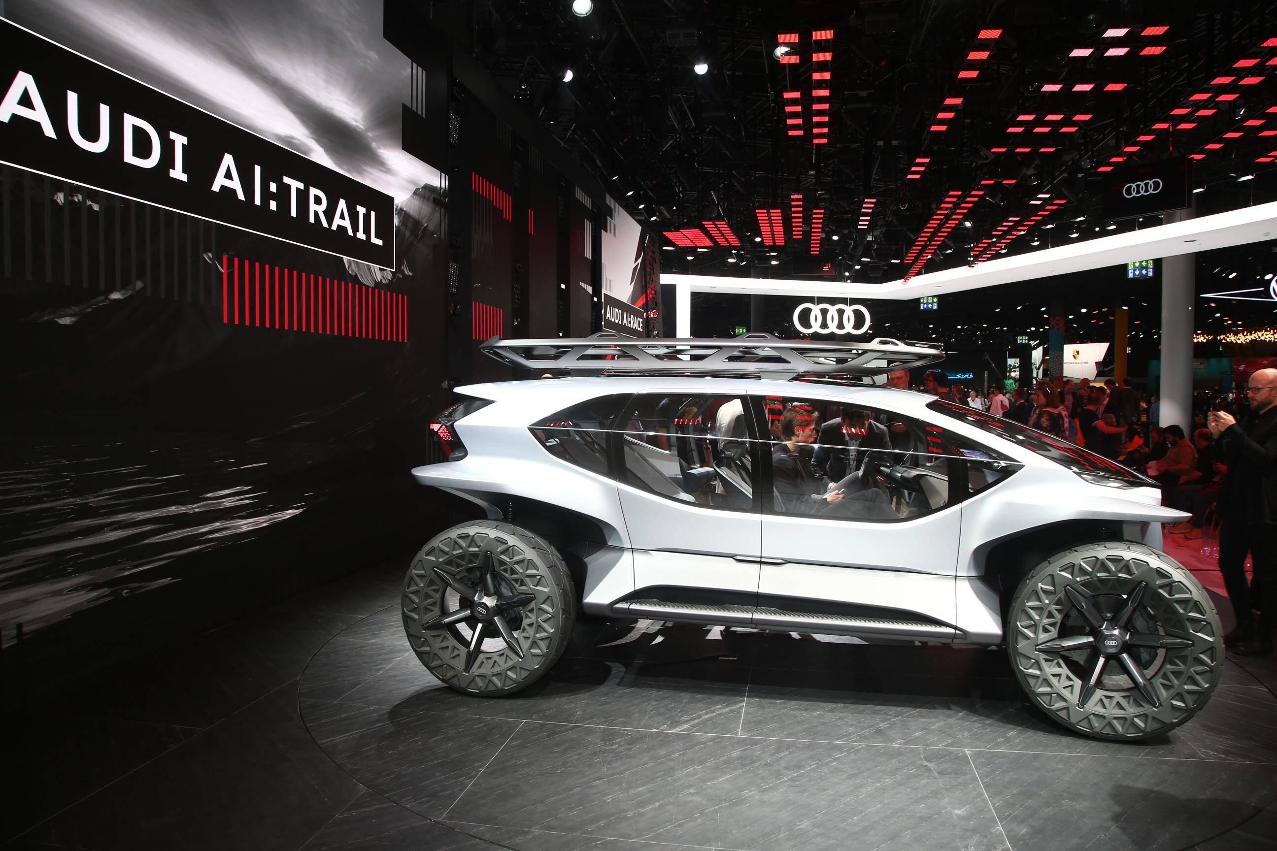 Audi Al: Trail Quattro. Foto: Newspress
