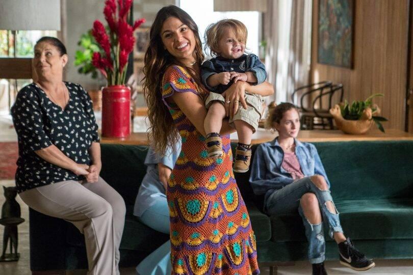 """Antes de ser mãe, Isis Valverde interpretou Ritinha em """"A força do Querer"""" , em 2017. A atriz anunciou sua gravidez em 2018. Foto: Divulgação / Rede Globo"""