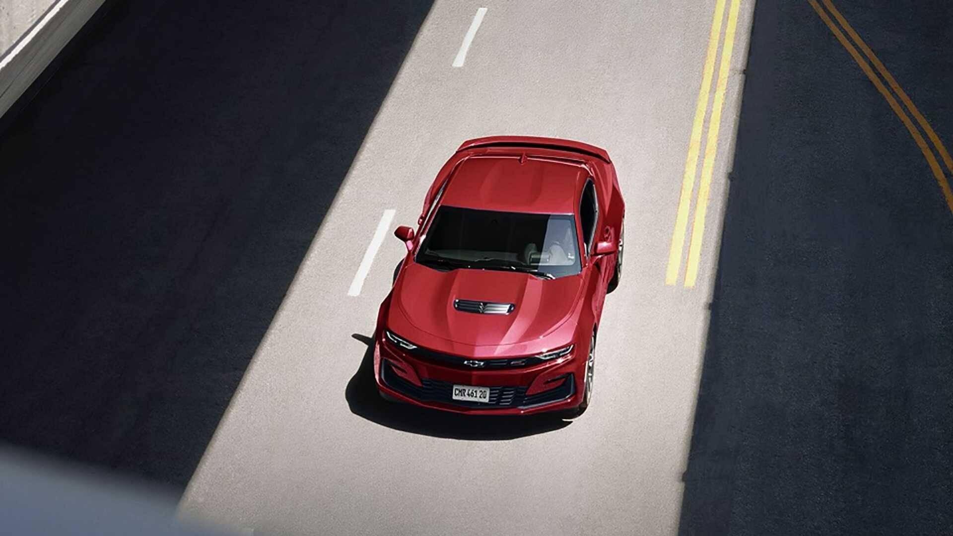 Chevrolet Camaro 2021. Foto: Divulgação