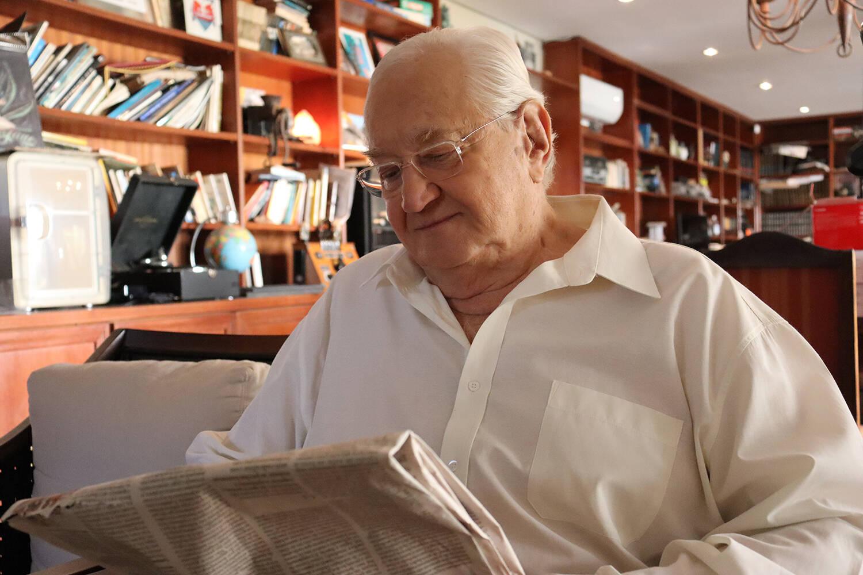 """Mesmo com a nova jornada na medicina veterinária, Boris continuará apresentando o """"Jornal do Boris"""". Foto: Divulgação"""