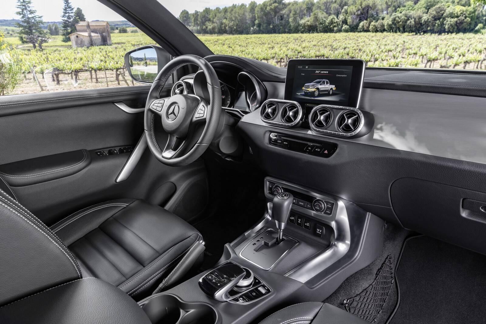Mercedes-Benz Classe X. Foto: Divulgação