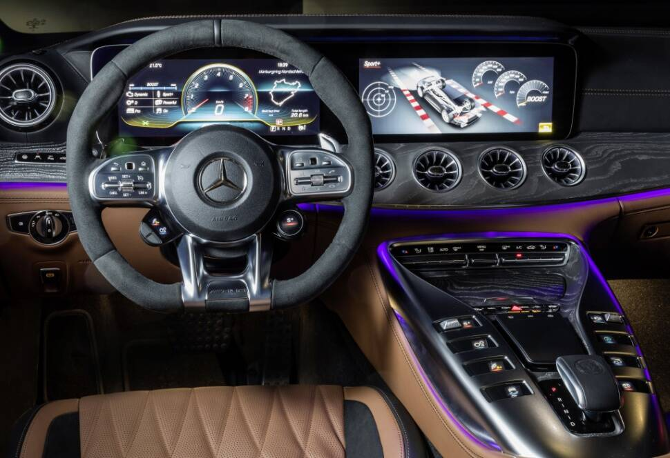 Mercedes AMG GT 4-Door. Foto: Divulgação