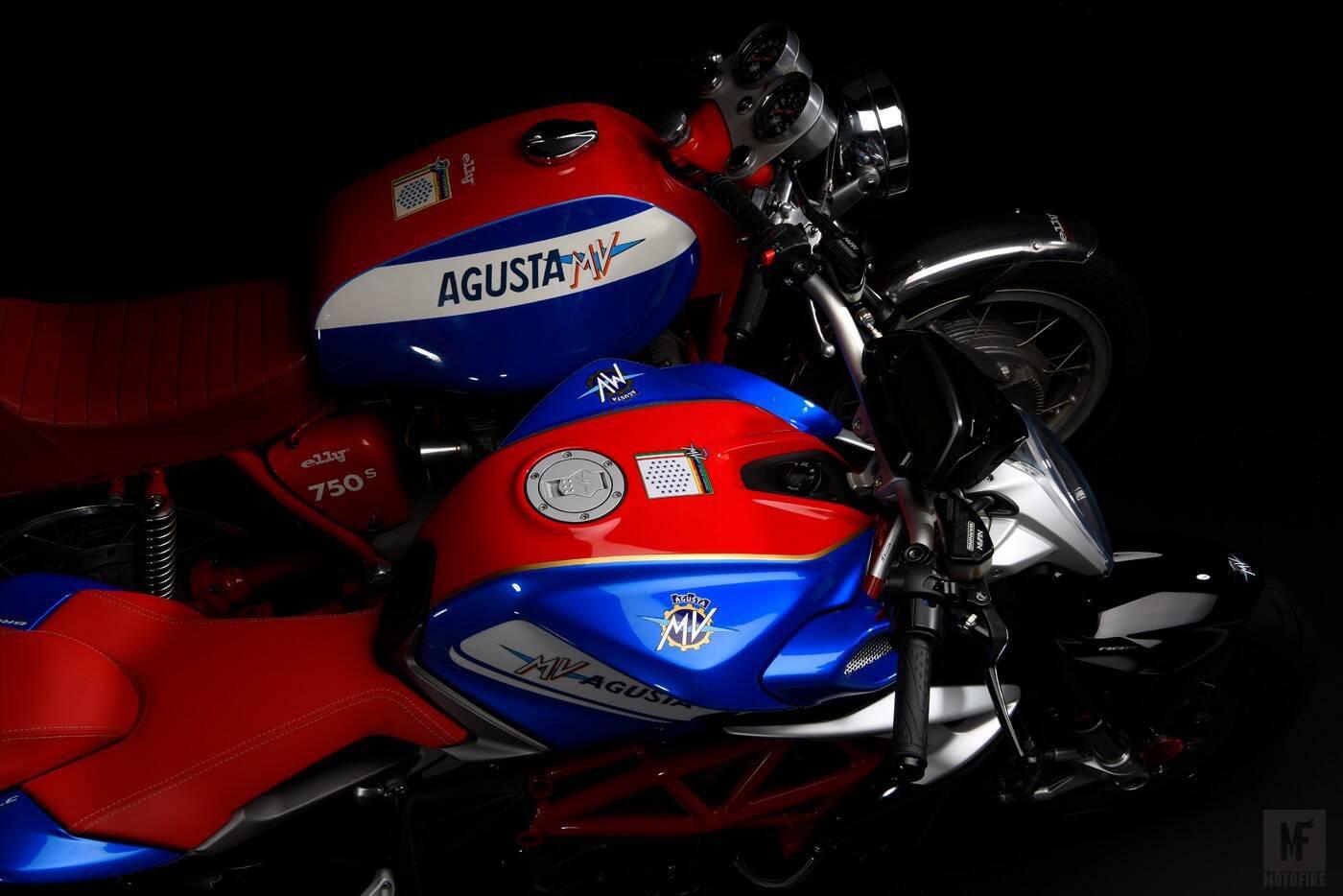 MV Augusta Brutale 800 RR America. Foto: Divulgação
