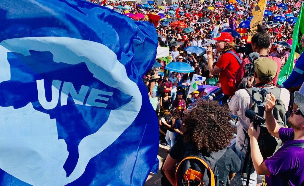 Manifestação de estudantes em Brasília. Foto: Ricardo Stuckert - 30.5.19
