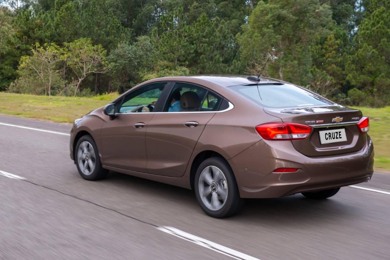 Chevrolet Cruze 2020. Foto: Divulgação