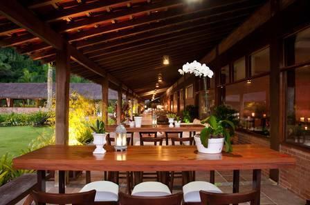 Casa de festas onde Viviane Araújo casará. Foto: Reprodução