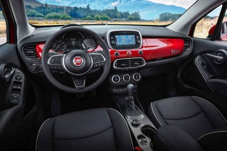 Fiat 500X 2019. Foto: Divulgação
