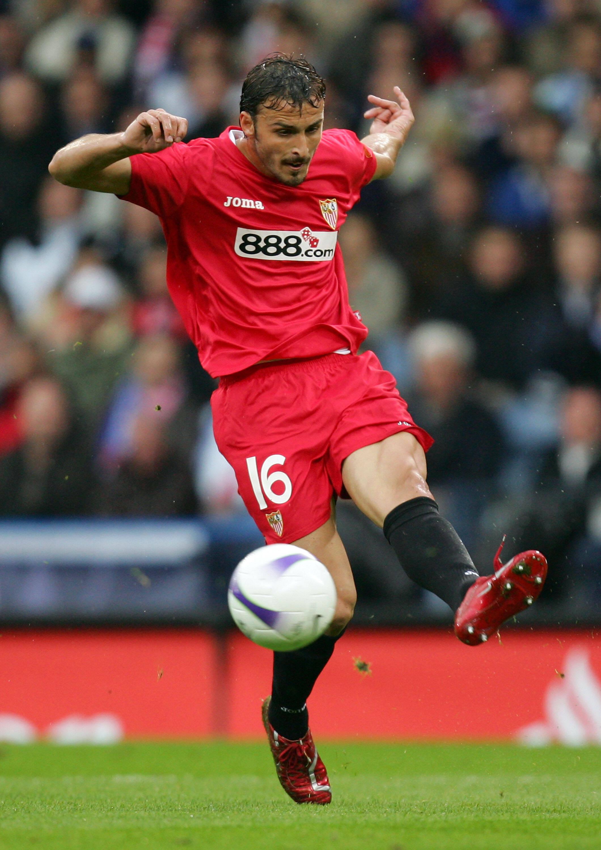 Antonio Puerta, defendia o Sevilla quando morreu em 2007, após sofrer uma parada cardíaca em pleno gramado quando enfrenta o Getafe.. Foto: Getty Images