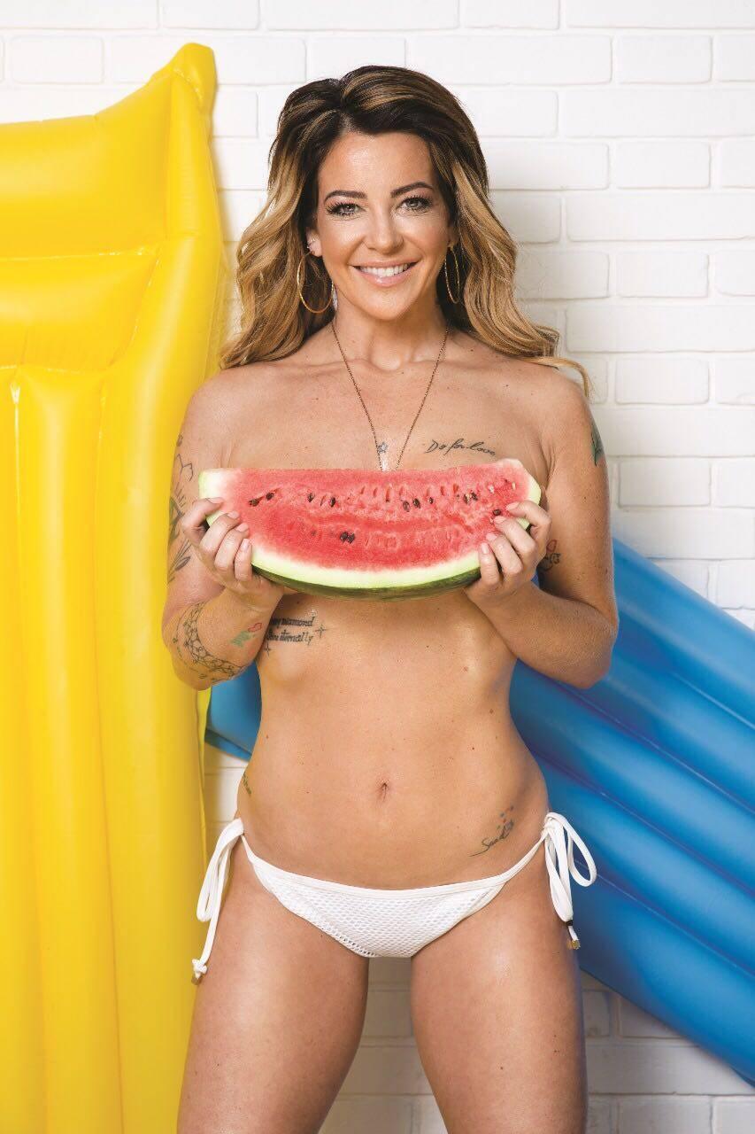 Ana Saad estampa capa da Playboy Portuguesa de março. Foto: CO Assessoria   Playboy Portugal