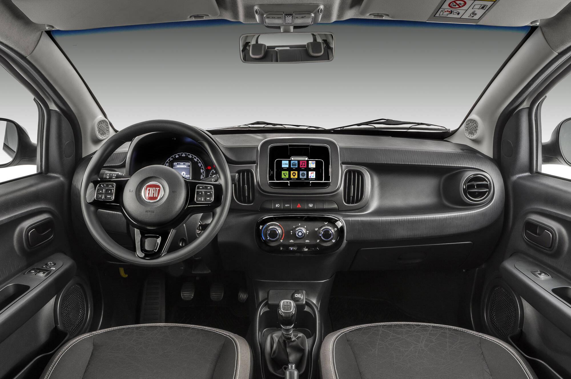 Fiat Mobi Drive. Foto: Divulgação/Fiat-Chrysler