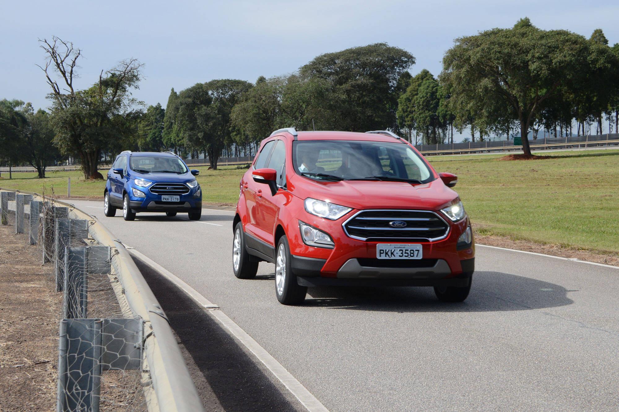 Ford EcoSport 2018. Foto: Divulgação/Ford