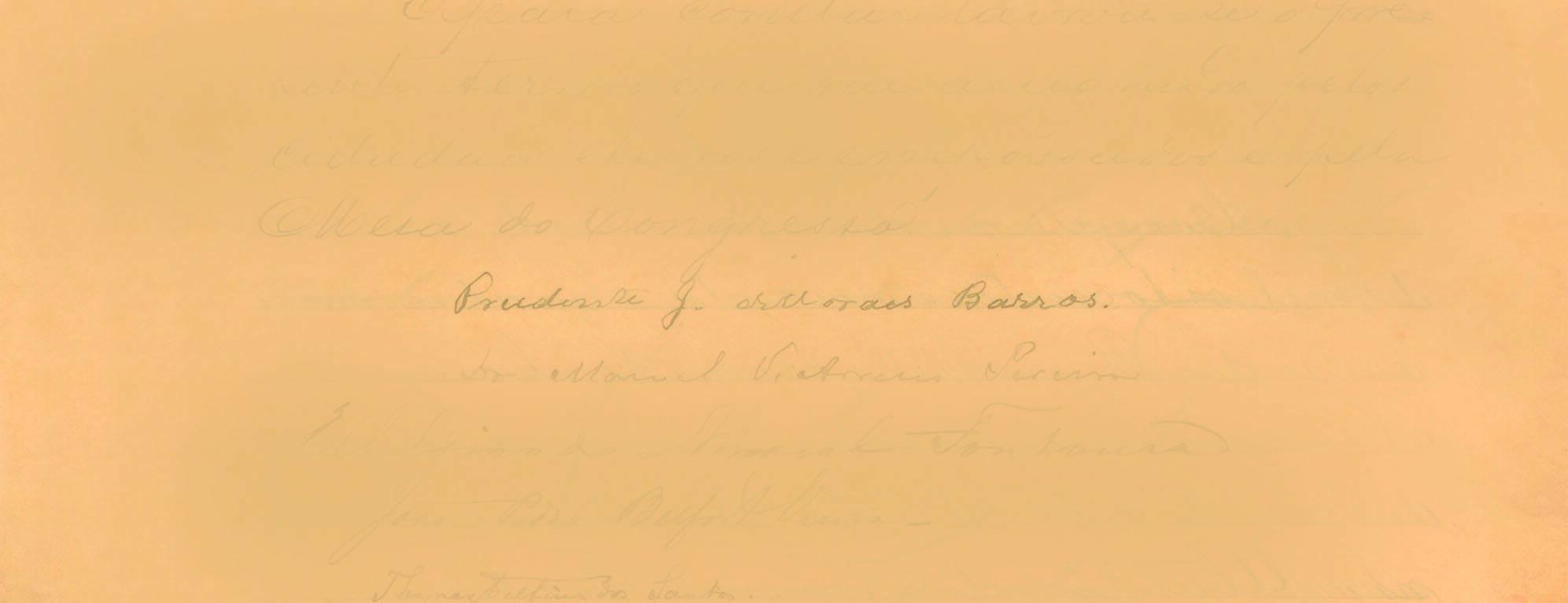 Prudente de Moraes, o primeiro presidente civil. Foto: Reprodução / Senado Federal