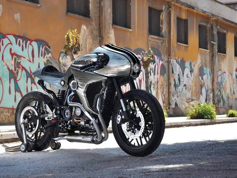 Harley-Davidson Athenas. Foto: Divulgação