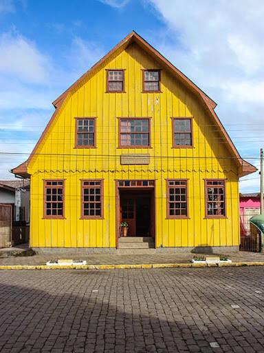 Sede do Centro Cultural de Cambará do Sul. Foto: Reprodução