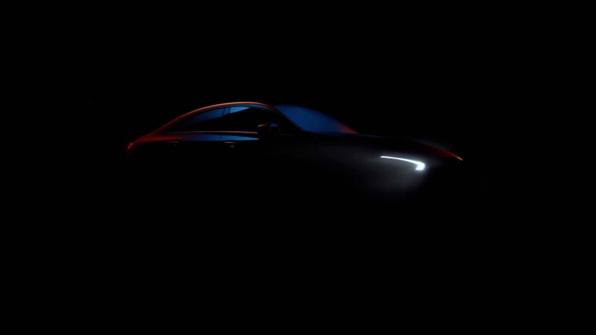 Mercedes-Benz CLA Teaser. Foto: Divulgação