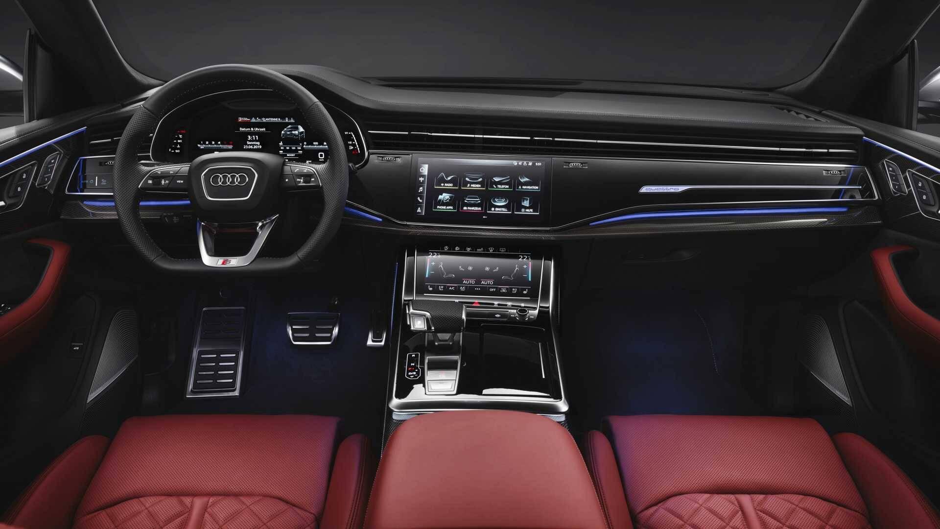 Audi SQ8. Foto: Divulgação