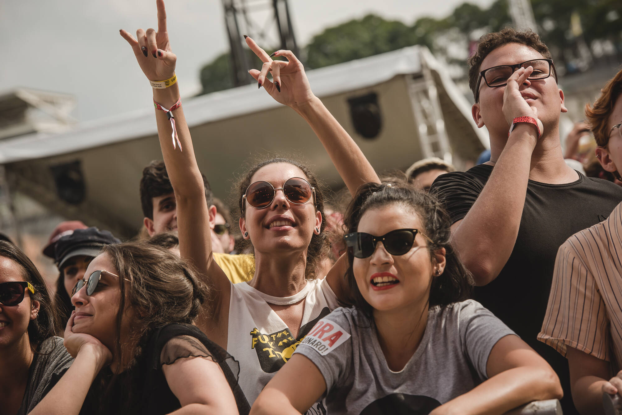 Lollapalooza 2019: Scalene. Foto: Divulgação/Lollapalooza