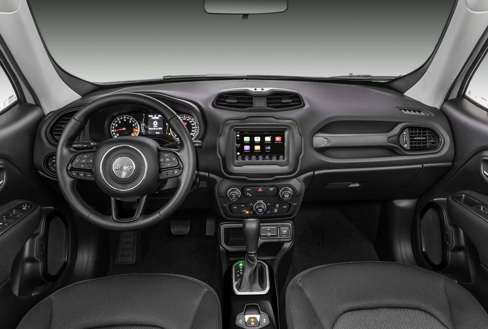 Jeep Renegade 2020. Foto: Divulgação