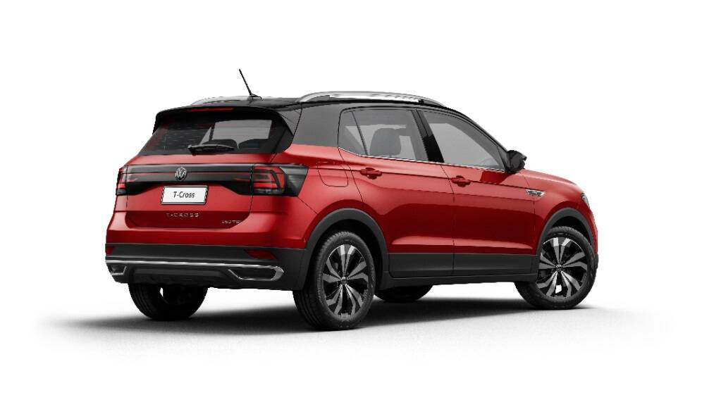 Volkswagen T-Cross 2022 . Foto: Divulgação