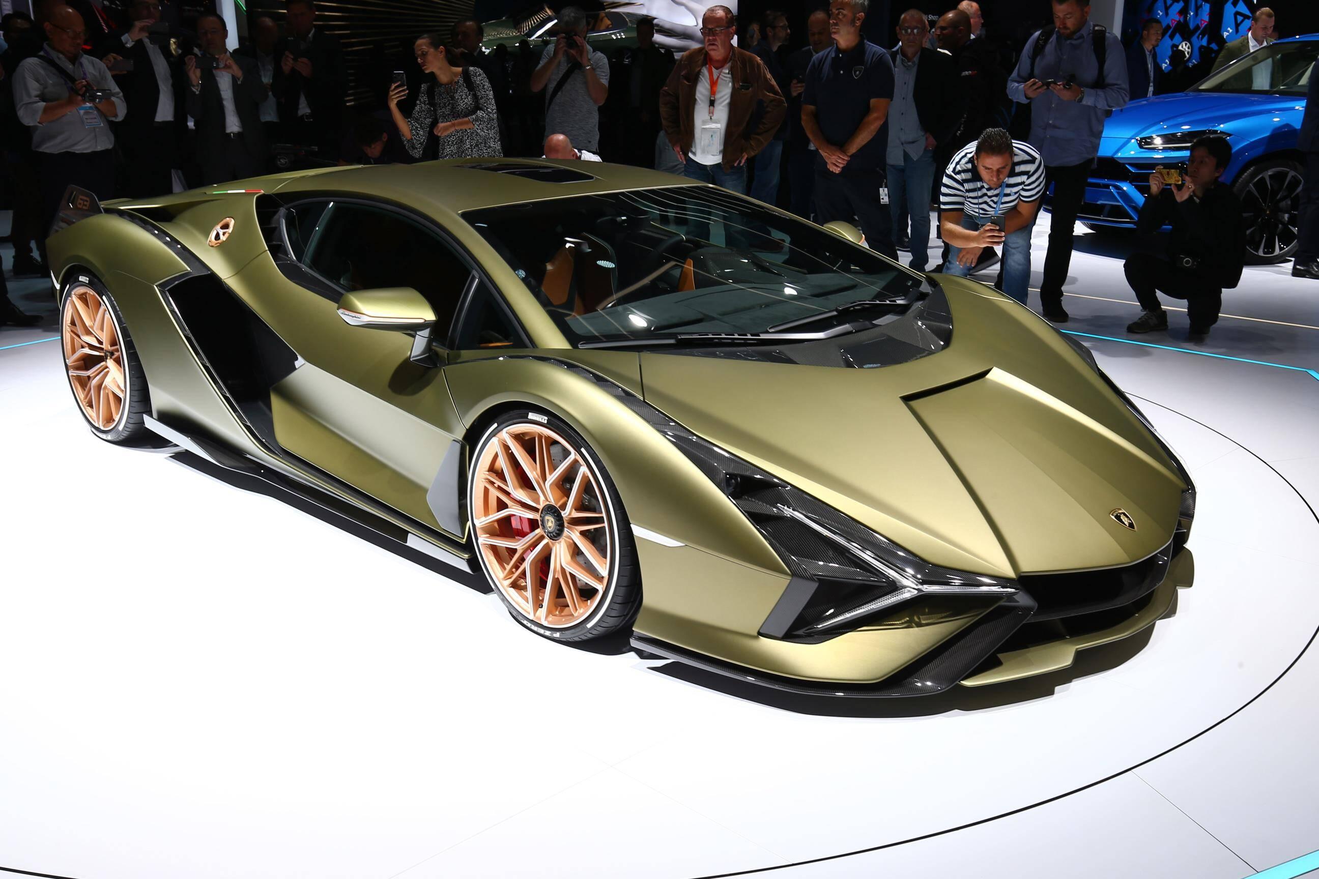 Lamborghini Sian. Foto: Newspress