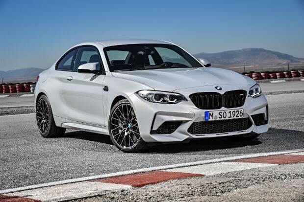 BMW M2 Competition. Foto: Divulgação