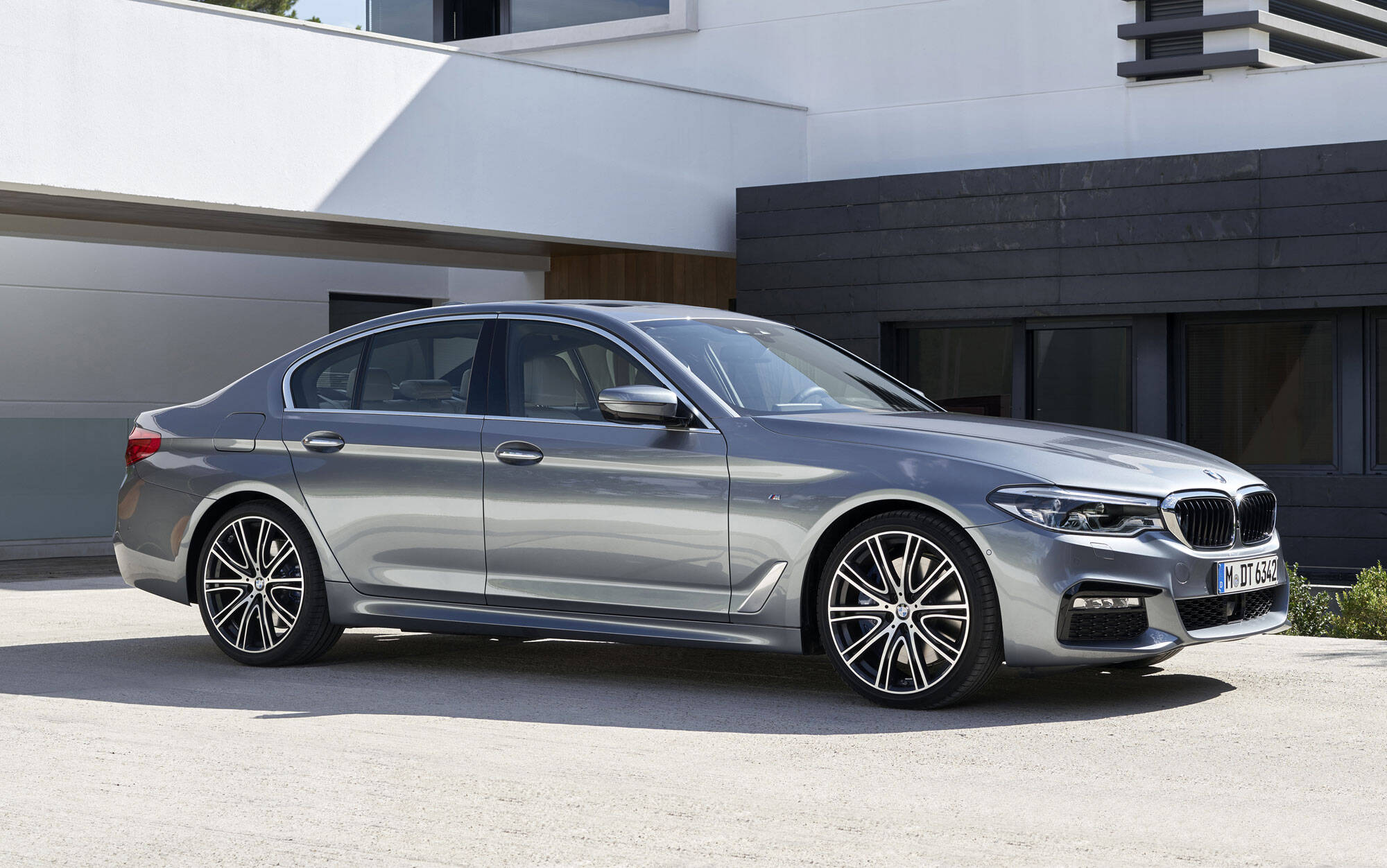BMW Série 5. Foto: Divulgação/BMW