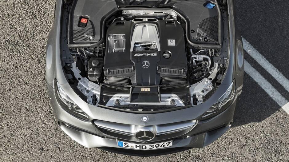 Mercedes-Benz E63 AMG. Foto: Divulgação