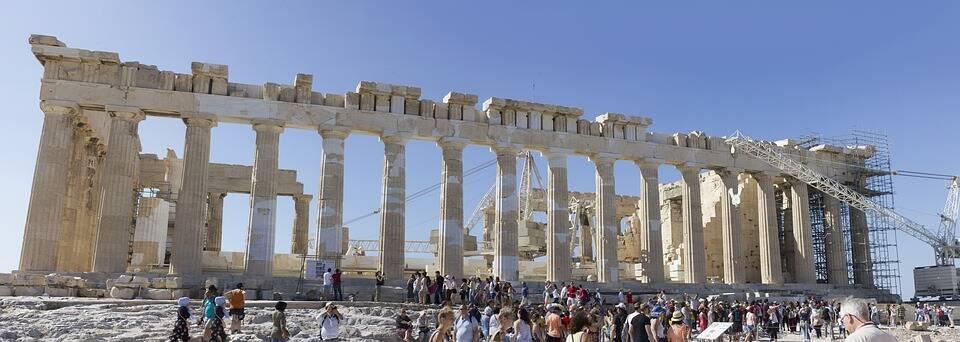 Tempor de Partenon recebe milhares de turistas todos os anos. Foto: Pixabay