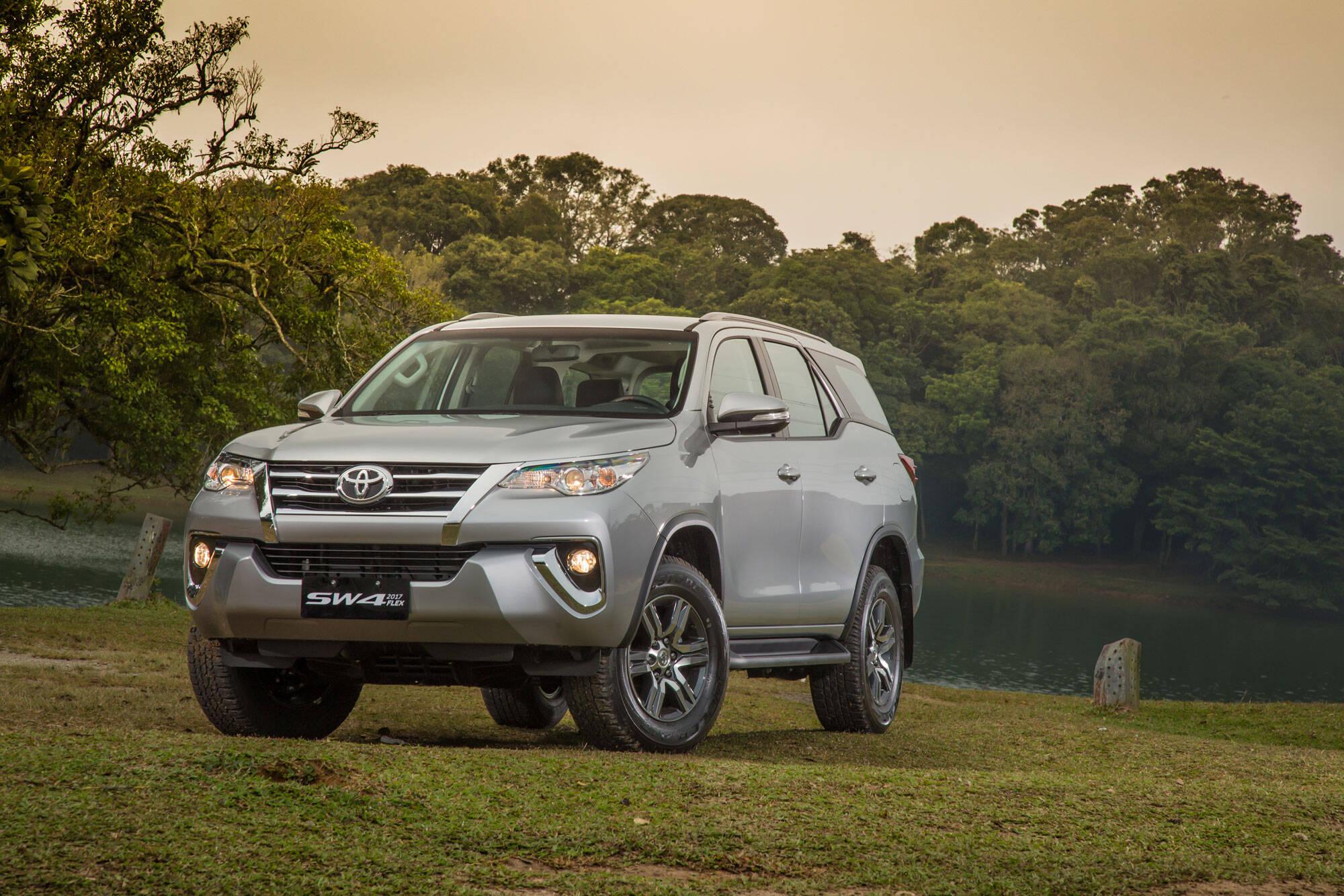 Toyota SW4, SUV grande, 11,1% de desvalorização depois de um ano. Foto: Divulgação/Toyota