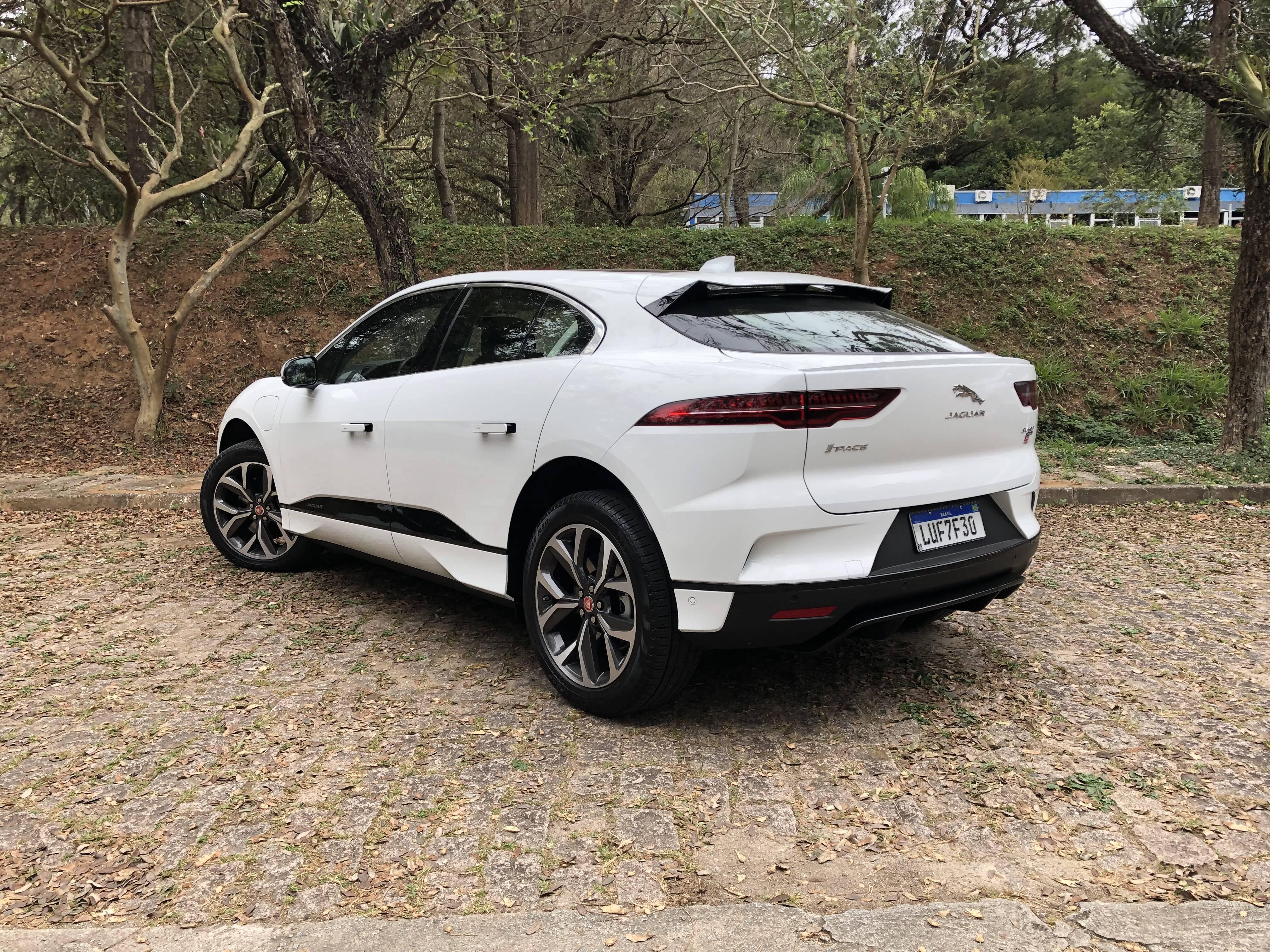 Jaguar I-Pace. Foto: Cauê Lira/iG Carros