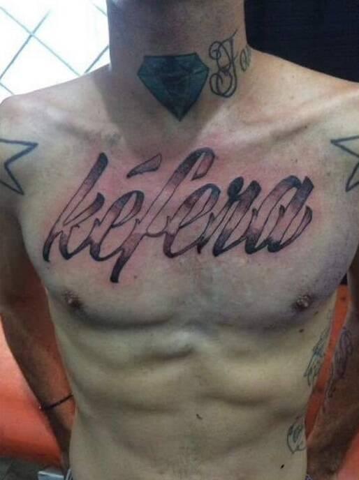 Tatuagem de fã. Foto: Reprodução