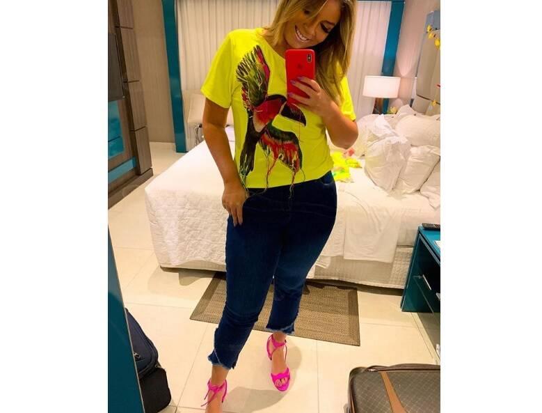 Marília Mendonça aparece em selfie e fãs elogiam. Foto: Reprodução/Instagram