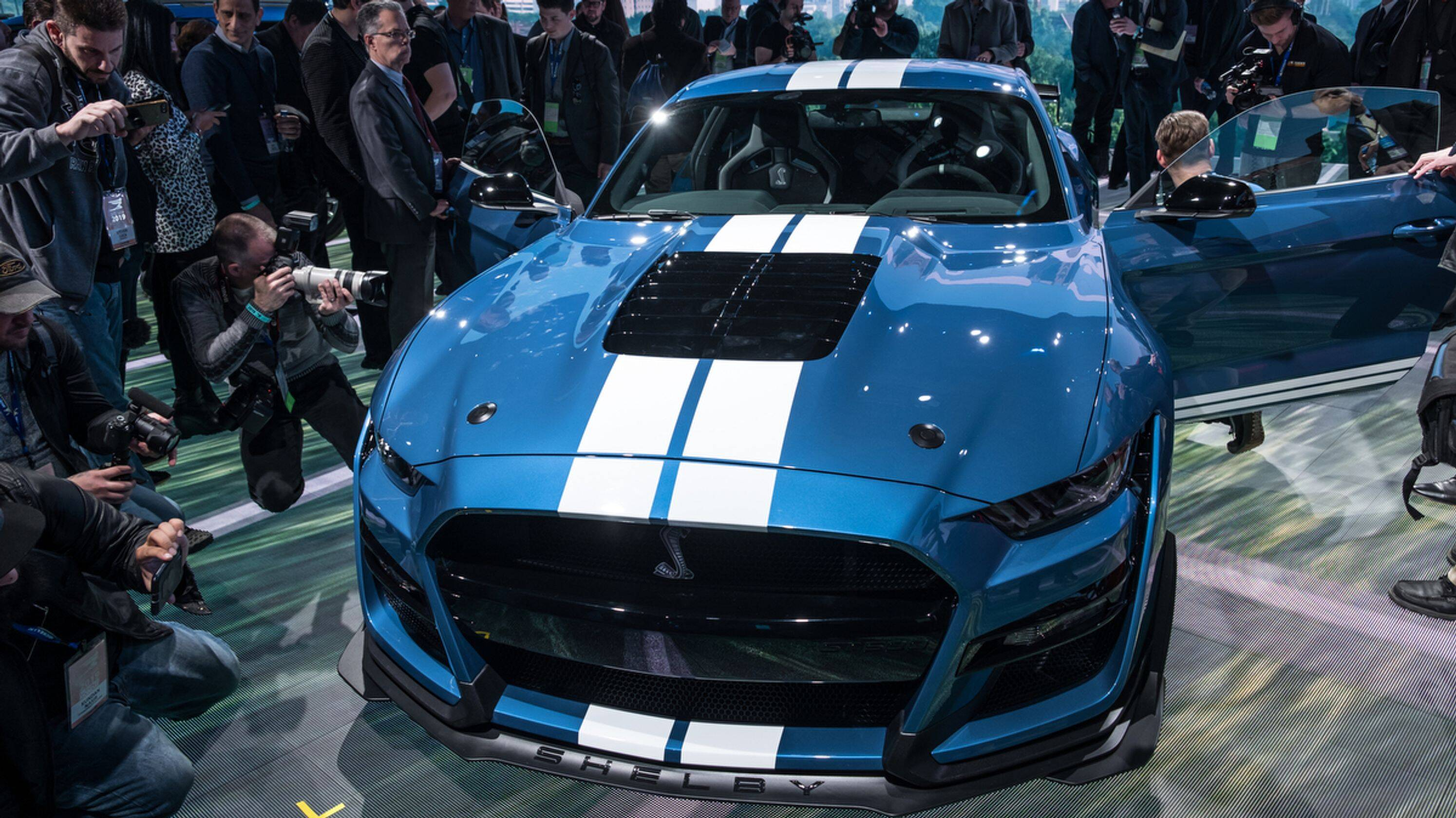 Ford Mustang Shelby GT 500. Foto: Detroit Free Press