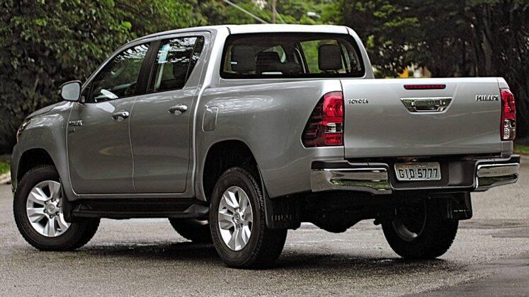 Toyota Hilux - Motorshow. Foto: Roberto Assunção
