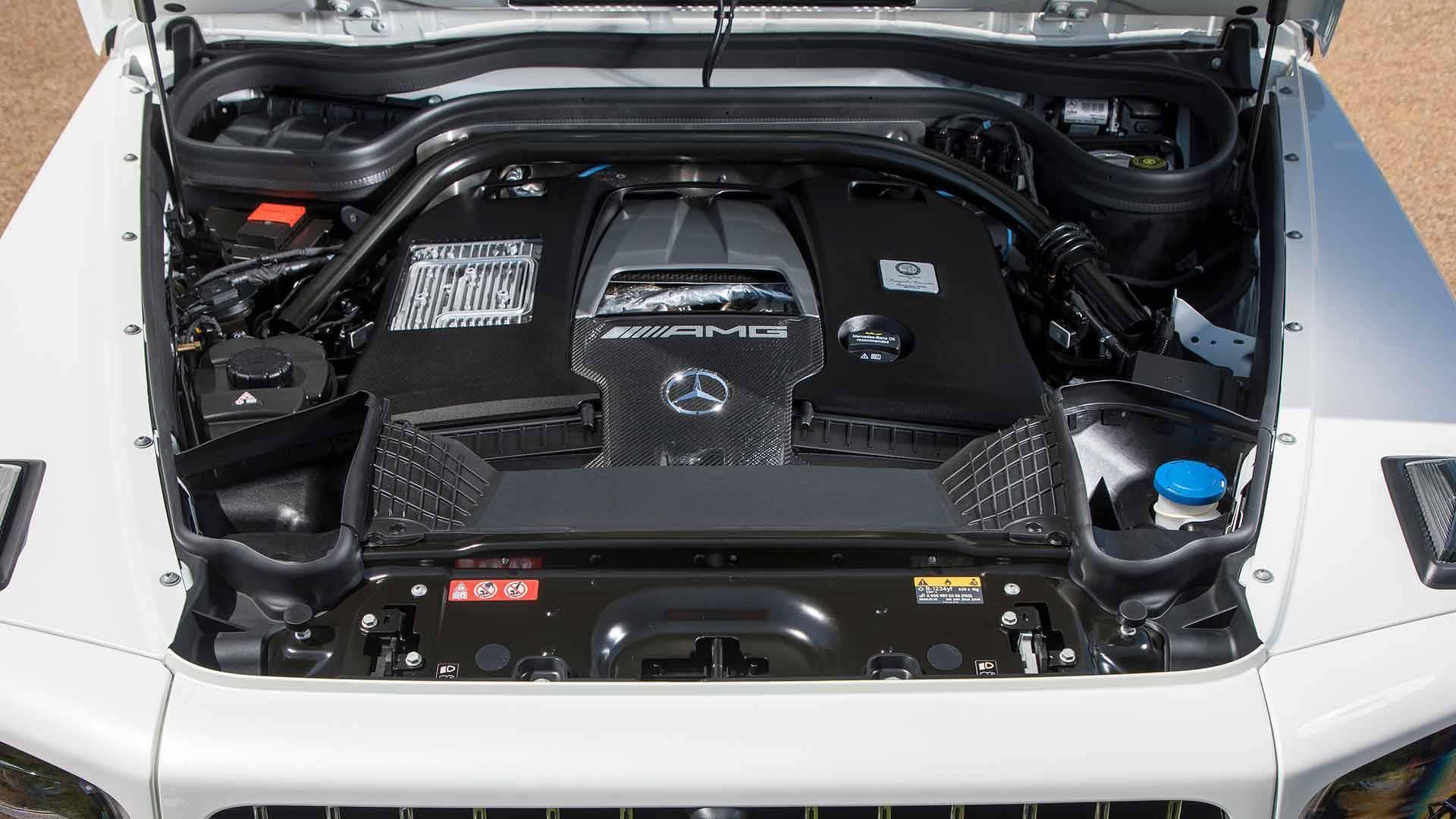 Mercedes - Benz Classe G 63 AMG 2019. Foto: Divulgação