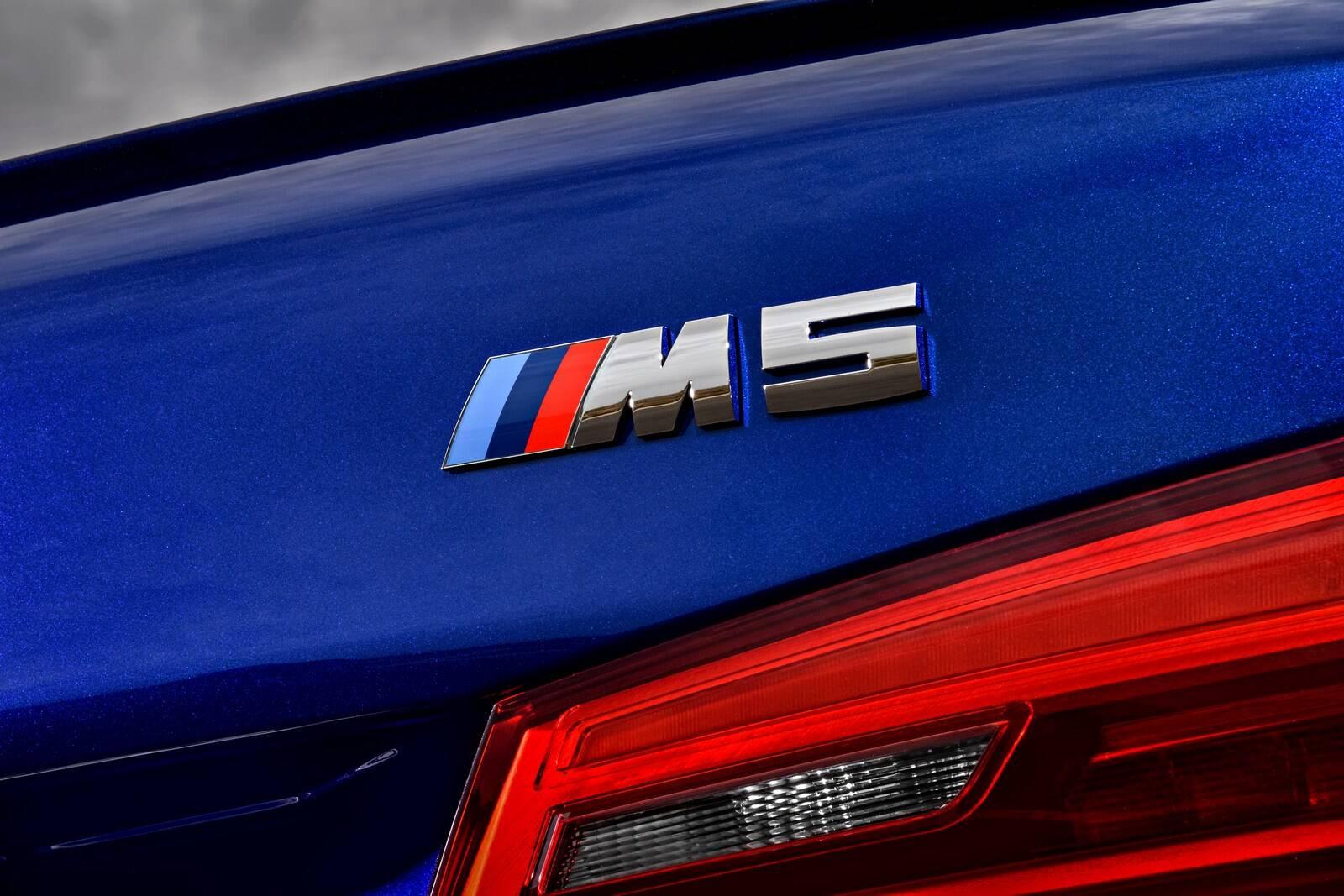 BMW M5. Foto: Divulgação