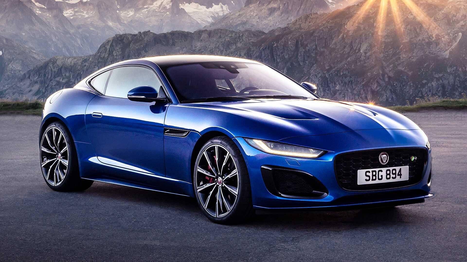 Jaguar F-Type 2021. Foto: Divulgação