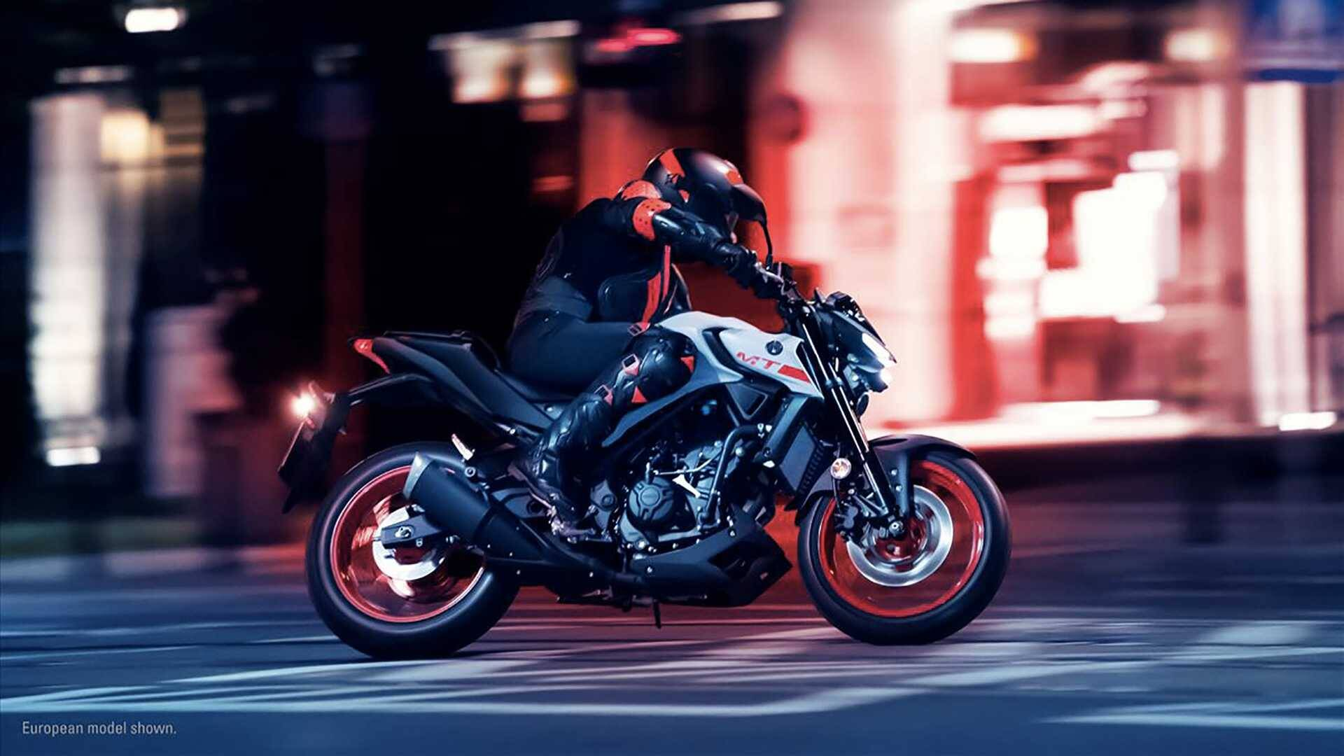 Yamaha MT-03. Foto: Divulgação