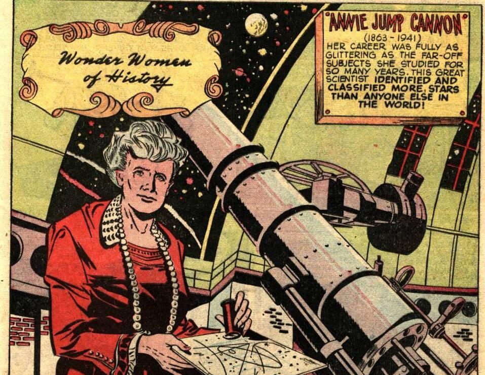 Annie Jump Cannon, a mulher que encontrou e classificou mais estrelas no mundo. Foto: Reprodução/Twitter