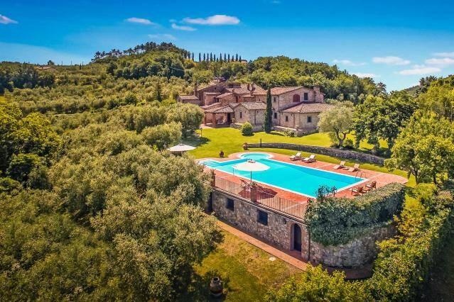 Villa dell'Angelo, Monsumanno Terme, Itália: O pitoresco lugar oferece quatro quartos, três banheiros e acomoda até oito pessoas. Foto: Divulgação/Airbnb