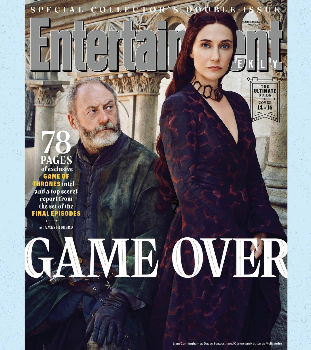 """""""Game Of Thrones"""" é destaque na Enterteinment Weekly. Foto: Divulgação"""